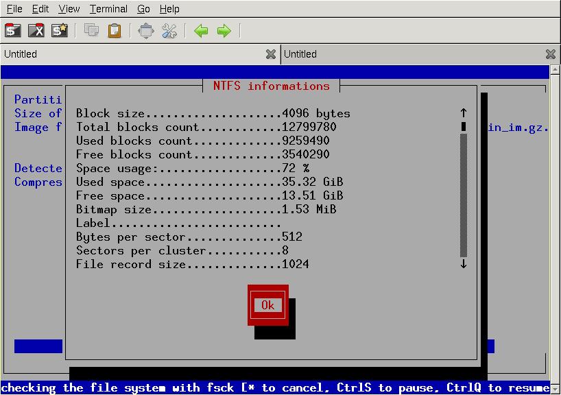 NTFS Informations