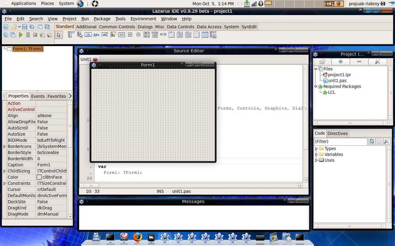 ติดตั้ง Lazarus แบบ Subversion บน Linux อย่างไรให้สำเร็จ – Prajuab
