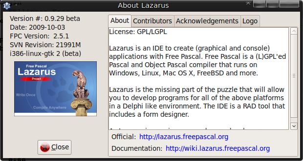 Lazarus subversion