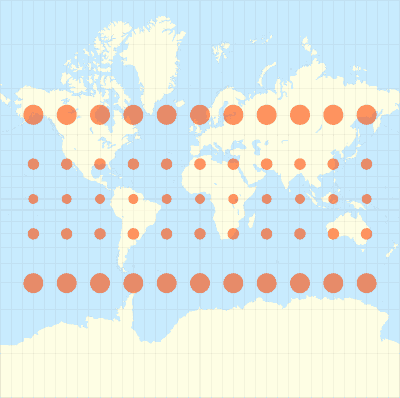 ภาพจาก http://geokov.com/education/map-projection.aspx