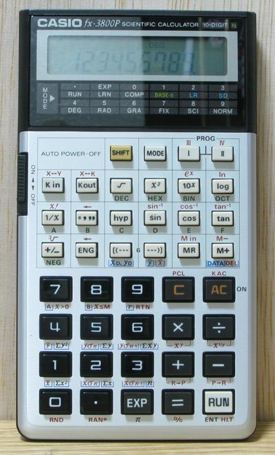 Casio Fx3800