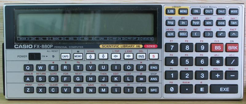 Casio FX - 880P