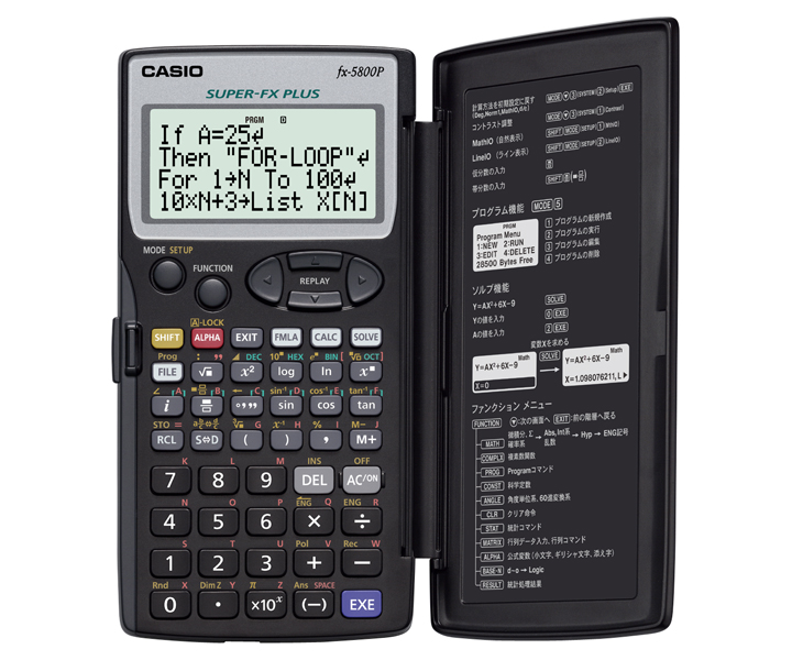 Casio FX5800P