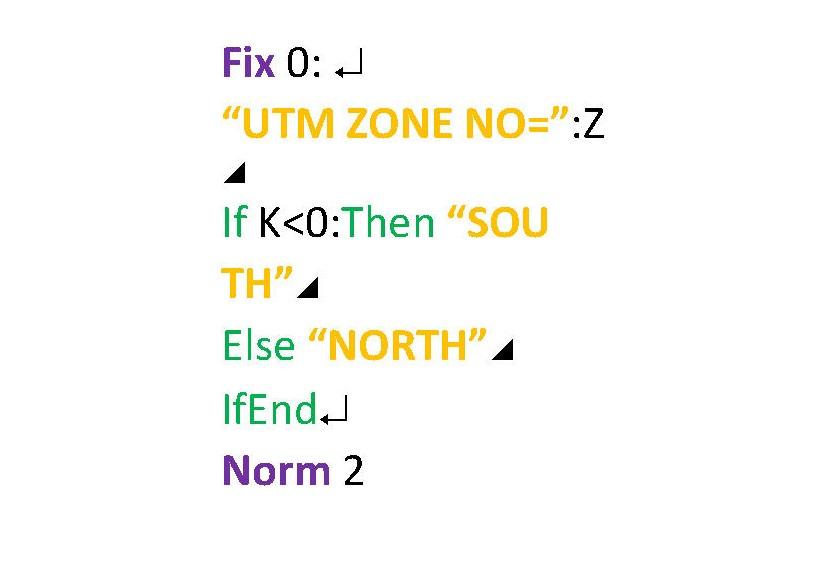 Geo2UTM(continued)