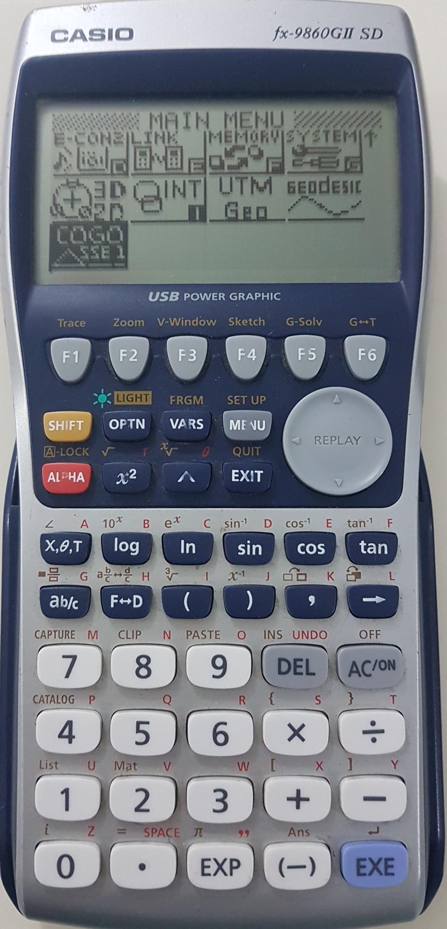 ติดปีกเครื่องคิดเลขเทพ Casio fx 9860G II SD ด้วยโปรแกรมภาษาซีบน AddIn ตอนที่ 4 โปรแกรมพื้นฐานงานสำรวจชุดที่ 1 (COGO SSE 1)