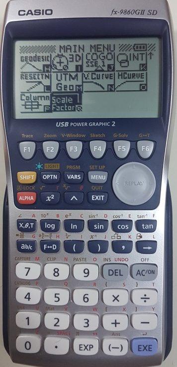 ติดปีกเครื่องคิดเลขเทพ Casio fx 9860G II SD ด้วยโปรแกรมภาษาซีบน AddIn ตอนที่ 8 โปรแกรมคำนวณสเกลแฟคเตอร์ (Scale Factor)